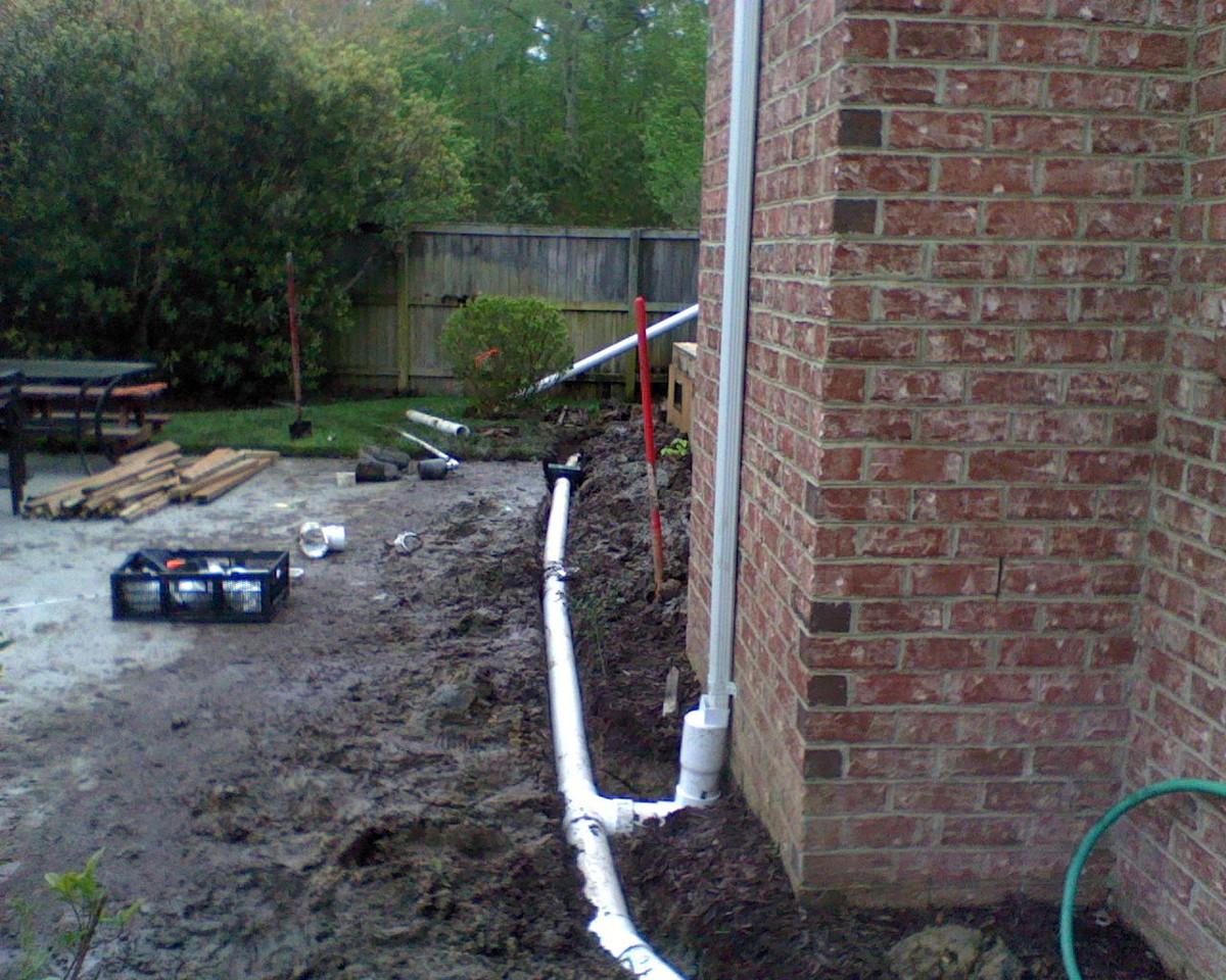Virginia Beach Drainage Systems - Winesett Nursery and