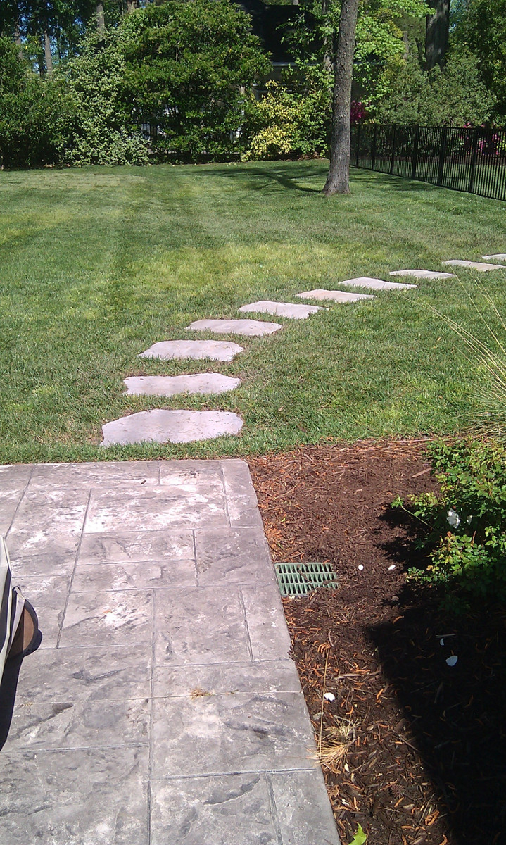 Virginia Beach Drainage Systems Winesett Nursery And Landscaping French Drain Design Diagram How To A Yard Or Lawn Installed At Low Spot In The Notice You Cannot Tell We