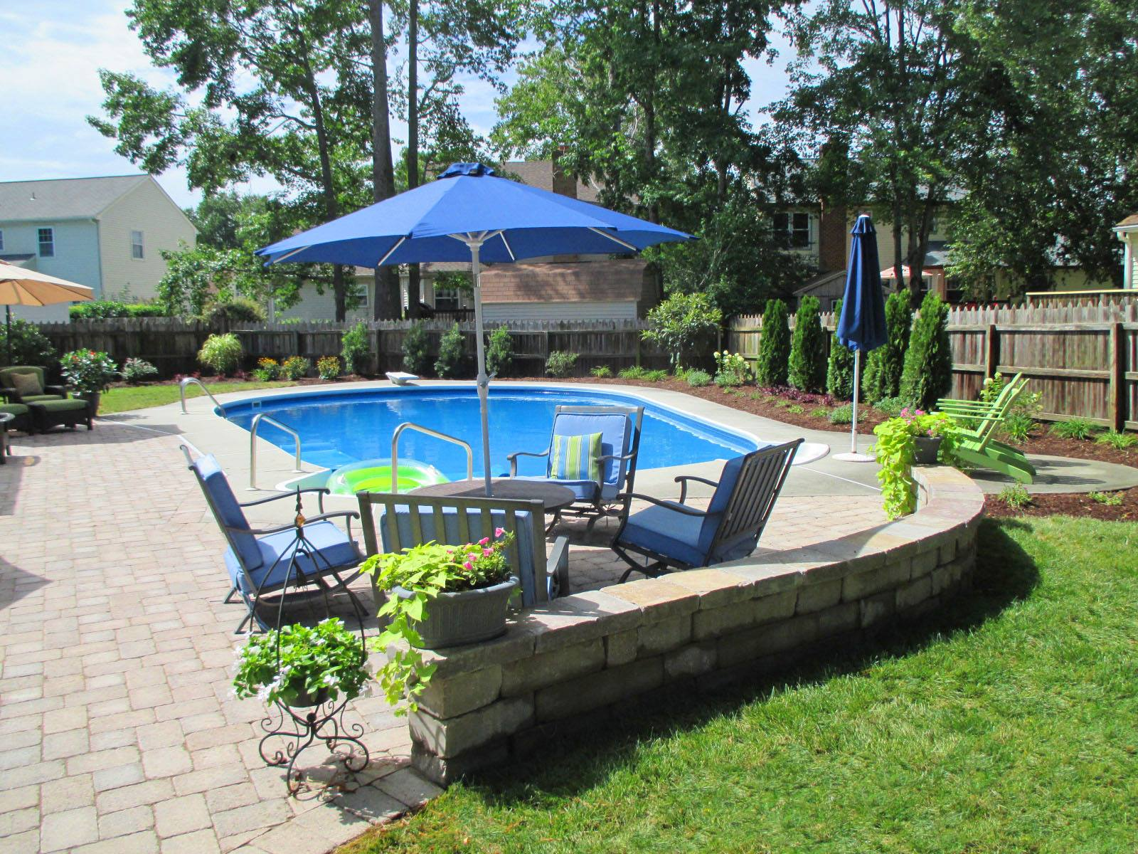 pool makeover virginia beach